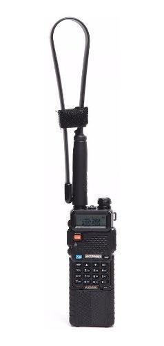 8w radio baofeng uv-5r batería 3800 mah + antena tactica