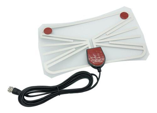 Amplificador de antena de tv digital hd plana para