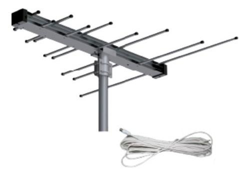 Antena aerea digital de alta definición