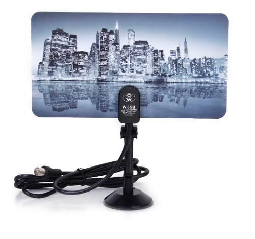 Antena de tv digital de señal hd 35dbi tv dtv antena