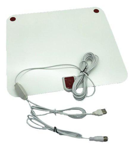 Antena de tv digital hd plana para interiores hdtv 80mile