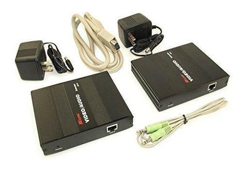 Antena de tv mycablemart 1 puerto vga video audio transmisor