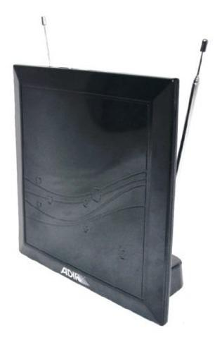 Antena digital de interior pata tv o decodificador adir