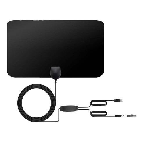 Antena tv digital hdtv negro