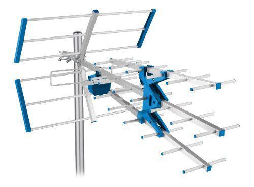 Antena uhf aérea de alto desempeño de 27 elementos hd