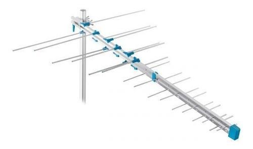 Antena uhf aérea plegable de 16 elementos hd descripción.