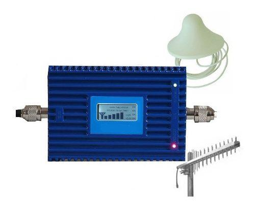 Antena y amplificador movistar repetidor señal celular 4g