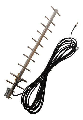Antena yagi para modem internet 3g 4g con conector ts9