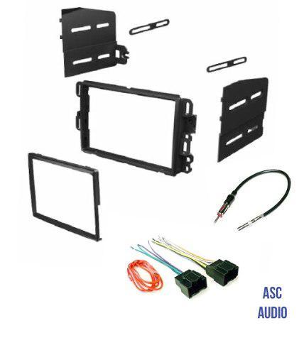 Asc car stereo dash kit adaptador de antena y arnés de ante
