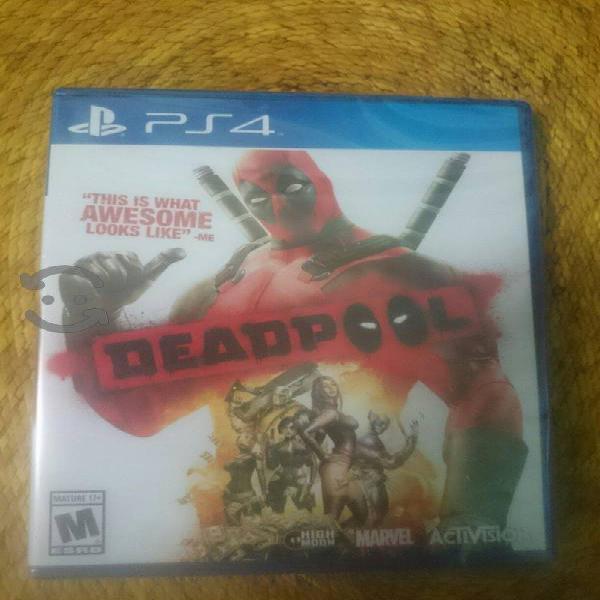 Deadpool para play 4 nuevo