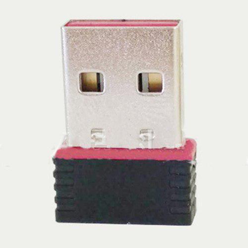 Mini receptor de tarjeta de red adaptador usb de antena