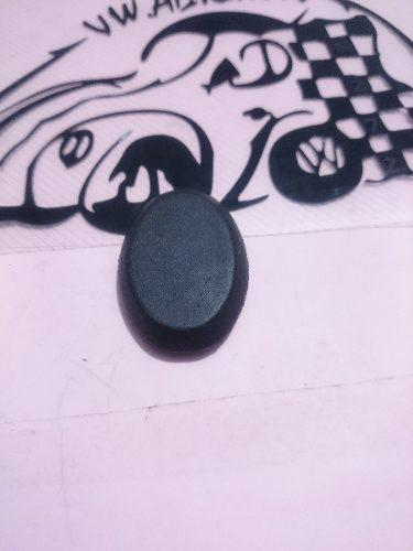 Tapa antena ciega tapon vocho goma negra pieza vw