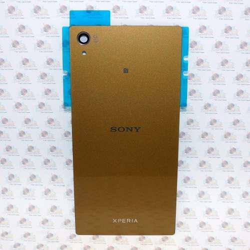 Tapa trasera xperia z5 premium adhesivo dorado + antena nfc