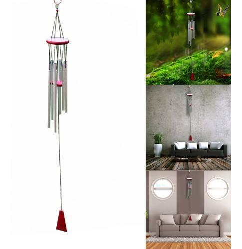 Campanas de viento tubos de aluminio para colgar el adorno d