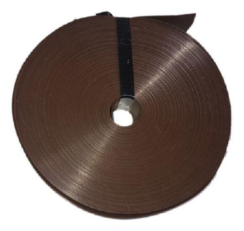 Cinta rompe vientos chocolate p malla ciclonica 20m2 ch20