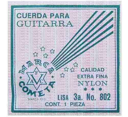 Cuerdas guitarra acústica nylon 12 pz 4-811 veerkamp