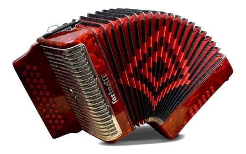 Farinelli 3012far1hg Acordeon Fa Rojo 3012 Premium Msi