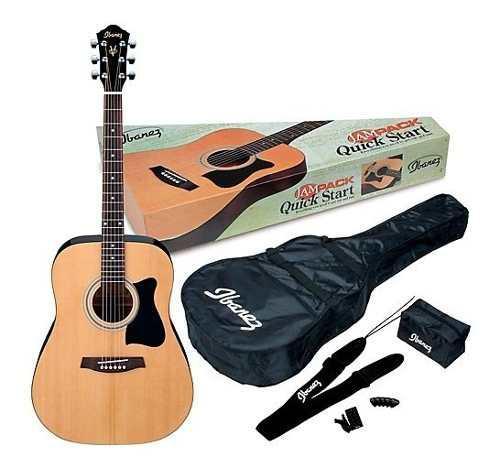 Guitarra electroacustica ibanez jampack natural