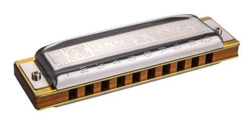 Hohner M533086x Armonica Blues Harp Tono Sol