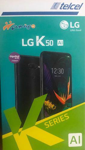 Celular lg k 50 negro 32gb