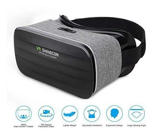 Pansonite 3d Vr Glasses Auriculares De Realidad Virtual Para