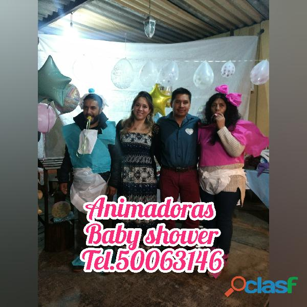 BABY SHOWER ANIMACIÓN Y RECUERDOS segunda mano  Nezahualcóyotl (México)
