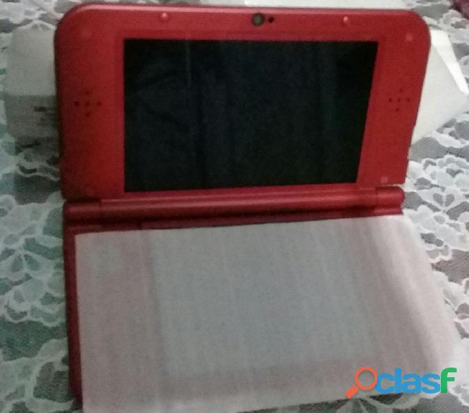 New Nintendo 3ds Xl Rojo + Cargador Original + Juego (nuevo) 2