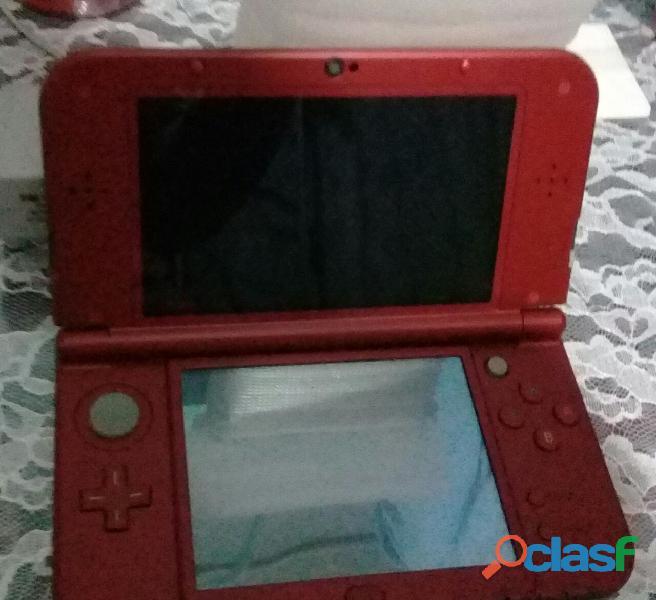 New Nintendo 3ds Xl Rojo + Cargador Original + Juego (nuevo) 4