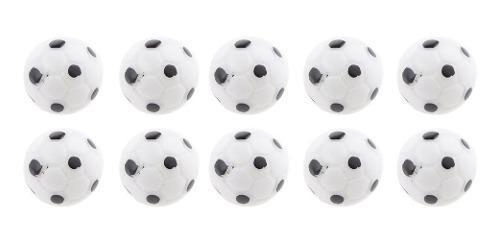 10pcs 1:12 casa de muñeca balones de fútbol miniatura