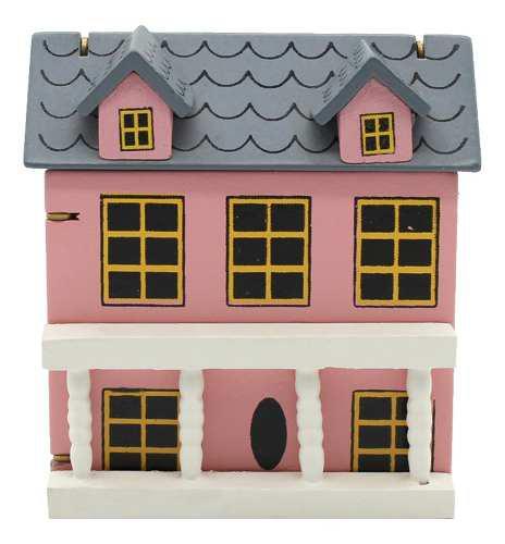 1/12 mini modelo de casa en miniaturas decoración