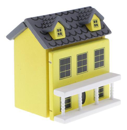 1/12 modelo de casa en miniatura accesorios decoración de