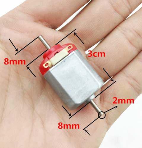 5pcs f130 mini miniatura dc motor para control remoto coche