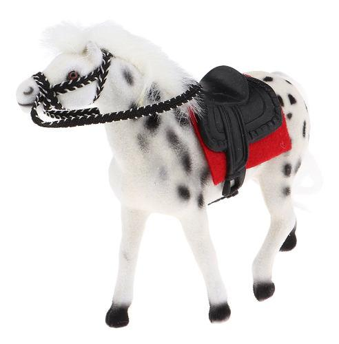 Caballo caballo de juguete miniatura granja