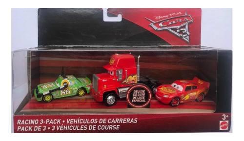 Cars 3 vehículos de carreras