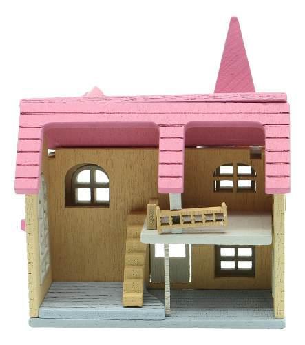 Casa miniatura casa de muñecas escala 1/12 accesorios de