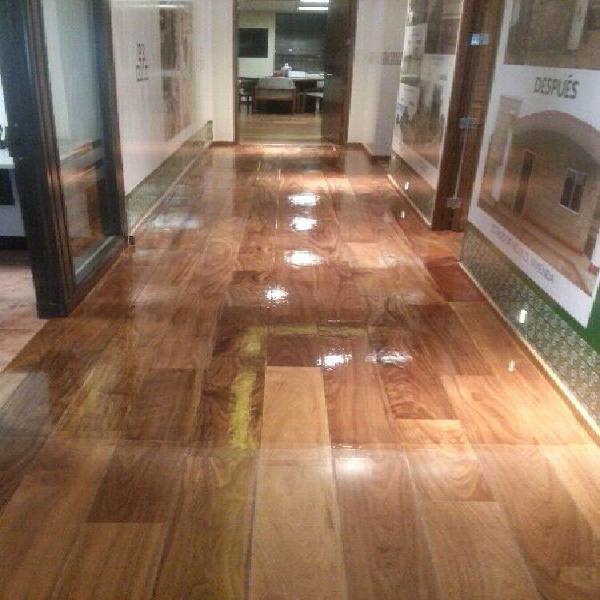 Colocación pulido y barnizado de pisos de madera