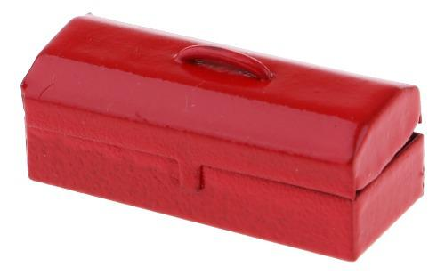 escala 1//12th Casa De Muñecas Teléfono De Metal Rojo Pequeño M5