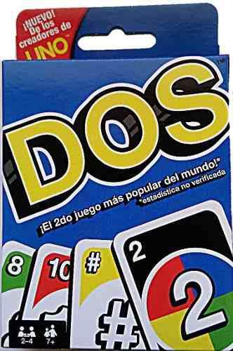 Juego de cartas dos, sucesor del uno juego de mesa