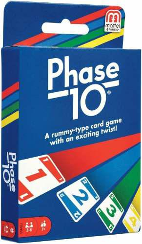 Juego de cartas phase 10 mattel de los creadores de uno