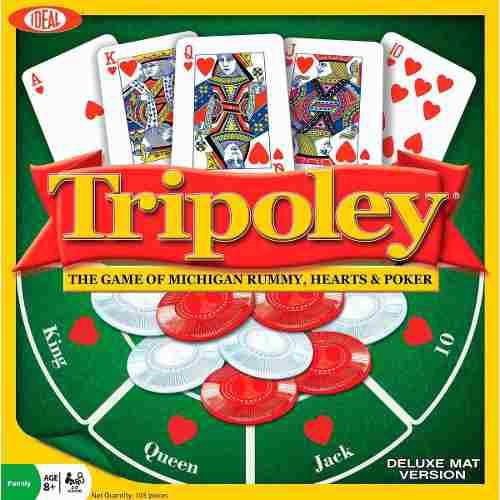 Juego de cartas tripoley - tripoli envío gratis