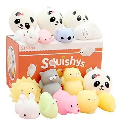 Juguetes miniatura mochi kawaii esponjosos antiestrã©s mar