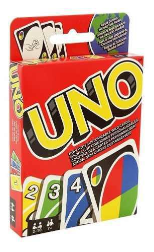 Mattel uno juego de mesa original 112 cartas