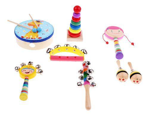 Miniatura de instrumentos de música juguetes accesorios de