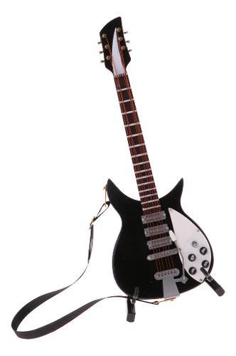 Modelo de guitarra en miniatura 1/6 - decoración clásica