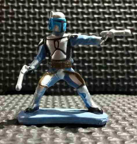 Star wars disney collectors pack miniatures jango fett
