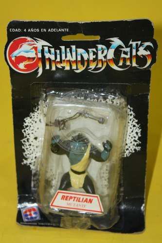 Vintage Reptilian Miniature Sellado Thundercats Venezuela