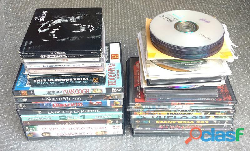 Películas DVD y CD música