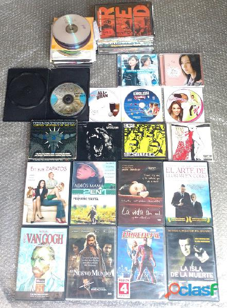 Películas DVD y CD música 1