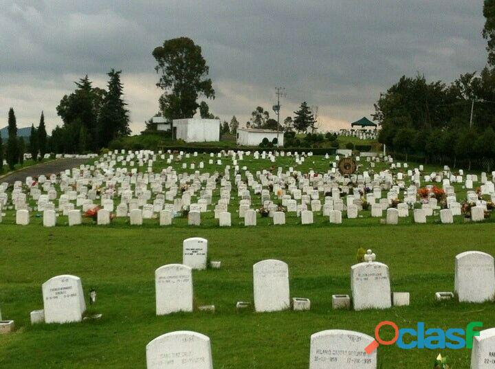 Venta lote duplex en cementerio los cipreses