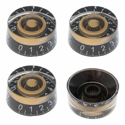 4pcs instrumentos musicales botones perillas control tono